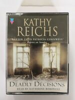 Deadly Decisions by Kathy Reichs (Audio cassette, 2000) Brilliant story