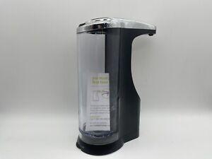 SimpleHuman Touch Free Automatic Sensor Soap Pump Dispenser 14oz Black - Used