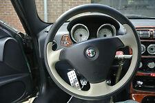 Alfa Romeo GTV Spider 166 155 Lenkrad Sportlenkrad Lederlenkrad Lusso Airbag V6