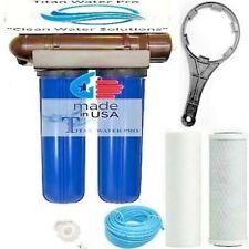 RO REVERSE OSMOSIS WATER FILTER 150 GPD, CLEAN WATER, HYDROPONIC & AQUARIUM