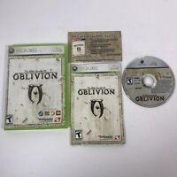 The Elder Scrolls IV: Oblivion COMPLETE - Xbox 360 - w/ Manual & Insert / No Map