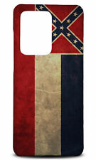 SAMSUNG GALAXY S SERIES PHONE CASE BACK COVER|MISSISSIPPI US STATE FLAG