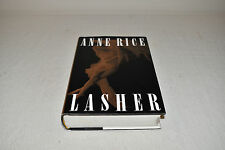 SIGNED FIRST EDITION Anne Rice LASHER Vampire Chronicles HCDJ 1ST Mayfair Witch!