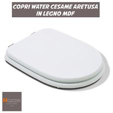 COPRI WC WATER CESAME ARETUSA RICAMBIO IN LEGNO MDF 36x46x5cm