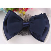 Lady Bow Barrette Hair Clip Cover Net Snood Bowknot 、 Hw