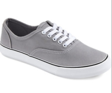 Mossimo Womens Shoes Layla Canvas Sneakers Gray Target Supply Summer Size 11
