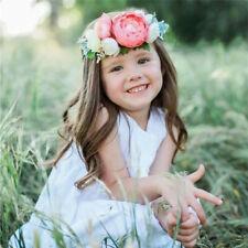 3PCS Girls Baby Headband Kids Toddler Bow Flower Hair Band Accessories Headwear