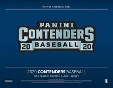CHICAGO WHITE SOX 2020 PANINI CONTENDERS BASEBALL 4 BOX 1/3 CASE BREAK #1
