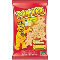 Pom-Bar Original SALTED potato chips -75g -FREE US SHIPPING