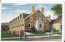 the lion house salt lake city utah postcard 1920s 30s era