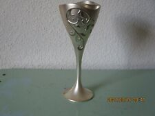 """Lenox """"And Two Shall Become One"""" Silver Interlocking Champagne Flutesglasses"""