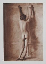 Unknown Munich Amateur 1925 Photo Heliogravure 23x31cm Nude Nus Akt German Woman