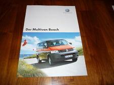 VW Multivan BEACH Prospekt 05/2006
