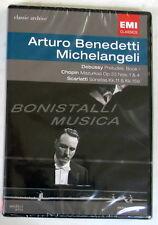Arturo BENEDETTI MICHELANGELI - DEBUSSY, CHOPIN, SCARLATTI - DVD Sigillato