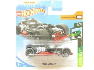 Hotwheels HW50 Concept Nero Velocità Sfocatura 1/10 Piccolo Scheda 1 64 Scala
