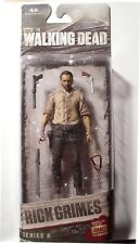 "McFarlane Walking Dead (TV Series) Rick Grimes ""Series 6"" - Sealed free shipping"