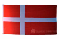 Denmark Flags & Bunting - 5x3' 3x2' & Giant 8x5' Table Hand - World Cup 2018
