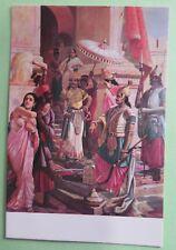 Vintage PPC Raja Ravi Varma VICTORY OF INDRAJIT picture postcard