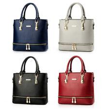 Women's Faux Leather Handbags Tote Purses Ladies Crossbody Shoulder Bucket Bags