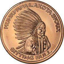 Lot of 20 - 1 oz Copper Round - Sitting Bull