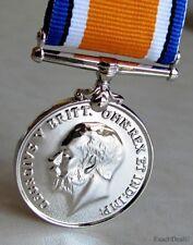 U.K BWM The British War Medal & Imperial forces World War One WWI Replica
