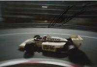 Marc Surer Hand Signed 12x8 Photo Arrows-BMW F1 2.