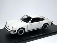 Porsche 911 Carrera Coupe 3.2 1988 weiß white blanc bianco - AUTOart 78012 1:18