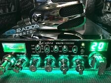Cobra 29 Chrome - Green Light Edition - PErformance Tuned + Nitro LED Rings