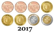 1 x KMS Malta 2017 - UNC   (1cent to 2€)