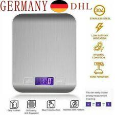 5kg/1g Flache Haushaltwaage Küchenwaage Präzisionwaage Feinwage Grammwaage DHL