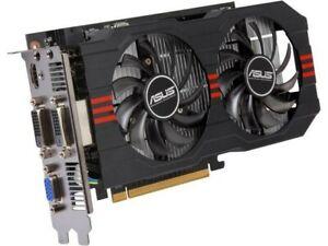 ASUS GeForce GTX 750Ti OC, 2GB GDDR5 Graphics Card, HDMI, DVI, VGA