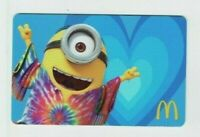 McDonalds Gift Card Minion / Despicable Me / Tie-Dye Shirt - 2015 - No Value