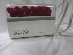 Clairol Quick Lift Heated Styling Clips Hair L12