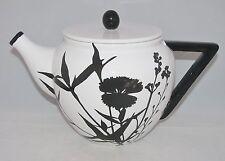 "burton+Burton Ceramic 6 Cup Teapot Tea Pot 6.2"" MODERN GARDEN"