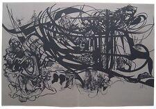 MORETTI RAYMOND SÉRIGRAPHIE RIMBAUD 1981 SIGNÉE AU CRAYON HANDSIGNED SILKSCREEN