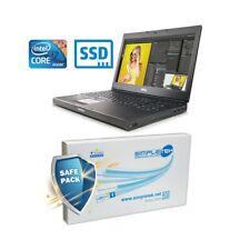 "COMPUTER NOTEBOOK GAMING WORKSTATION DELL M4700 I7 3720QM 15,6"" SSD GRADO B-"
