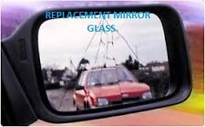 Peugeot 205 door mirror glass (fits left side)(srg42)(83 - 87)