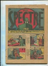 MORE FUN COMICS #63  (COVERLESS CENTERFOLD MISSING) VHTF SPECTRE! 1940