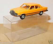 MICRO WIKING HO 1/87 MERCEDES BENZ 450 SI ARANCIONE in box
