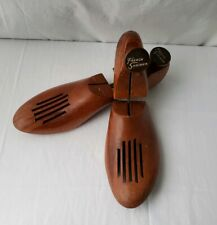 Wooden Shoe Trees Stretcher French Shriner Size 8 3 Narrow