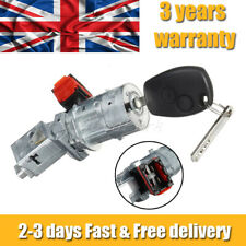 NEW Ignition Switch Lock Barrel Cylinder +key For Renault Clio MK III 8200214168