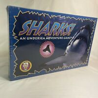New Sealed VTG Board Game SHARKS! An Undersea Adventure Game RARE, MINT, NOS F/S