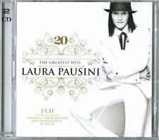 Laura Pausini  20 The Greatest Hits  2 CD AUDIO  Nuovo Sigillato IL MEGLIO BEST