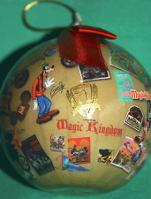 DISNEY WORLD 40 YR OF MAGIC ANNIVERSARY 2011 COLLECTIBLE CHRISTMAS ORNAMENT NEW