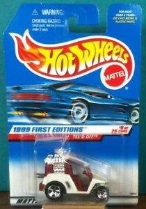 1999 First Editions Tee'd Off - #9 of 26 Hot Wheels #683 Red Interior