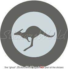 AUSTRALIA Australian AirForce RAAF LowVis Aircraft Roundel 100mm Sticker, Decal