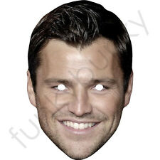 Mark Wright Celebrity Card Face Mask - All Our Masks Are Pre-Cut!