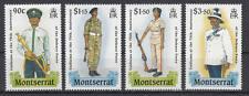 Montserrat - Michel-Nr. 736-739 postfrisch/**  (75 J. Streitkräfte / Uniformen)