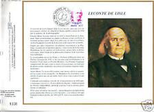 premier jour CEF FRANCE LECONTE DE LISLE