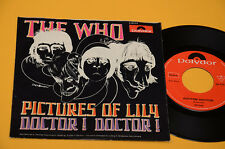 """7"""" 45 AUCUN LP QUI PHOTOS OF LILY 1°ST ORIG GERMANY 1967 EX BANDE DESSINÉE COVER"""
